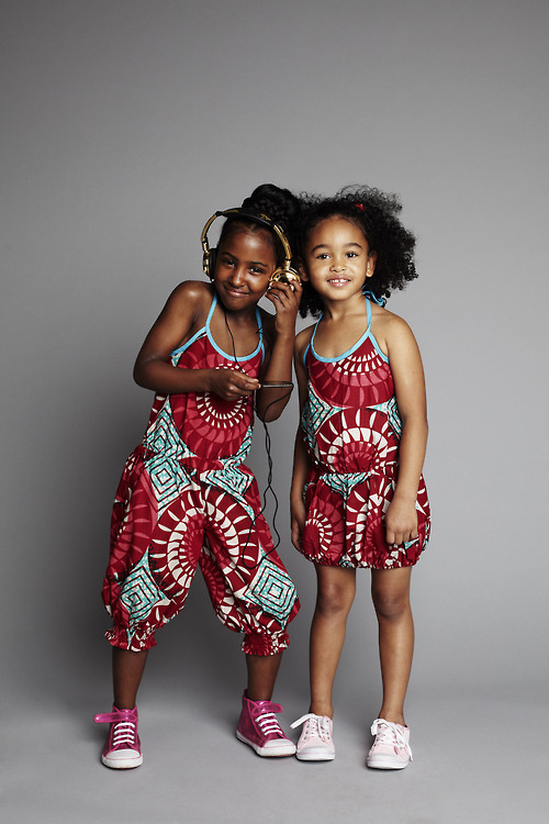 ada41f30b Street Style Of The Day- Children In Ankara African Prints Styles ...