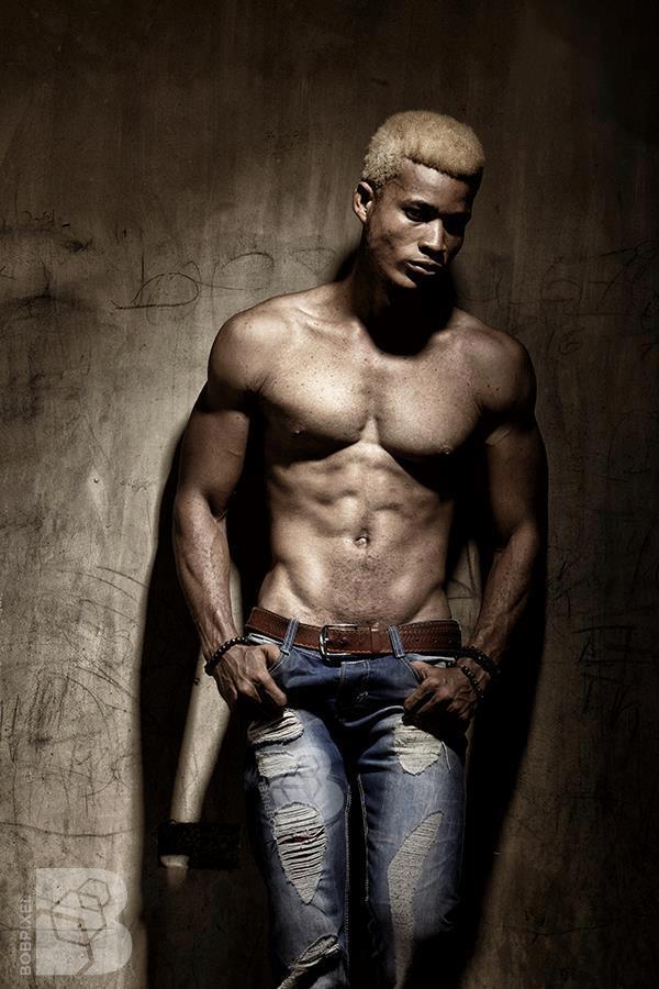 Black Men Model Fashion