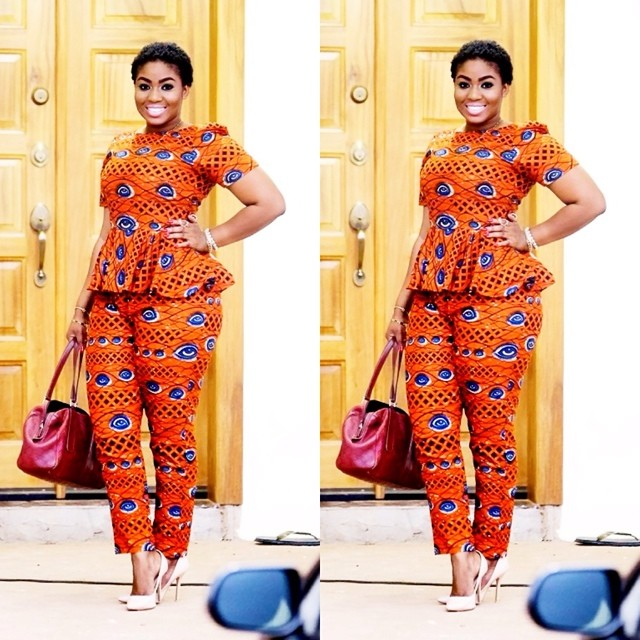 Street Style Of The Day AfricanAnkara Prints Pants