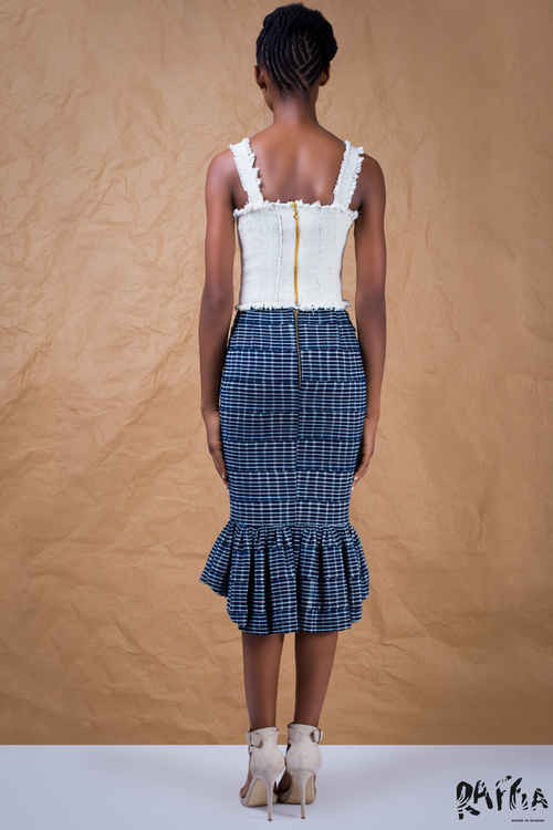 raffia fashionghana african fashion look book (8)