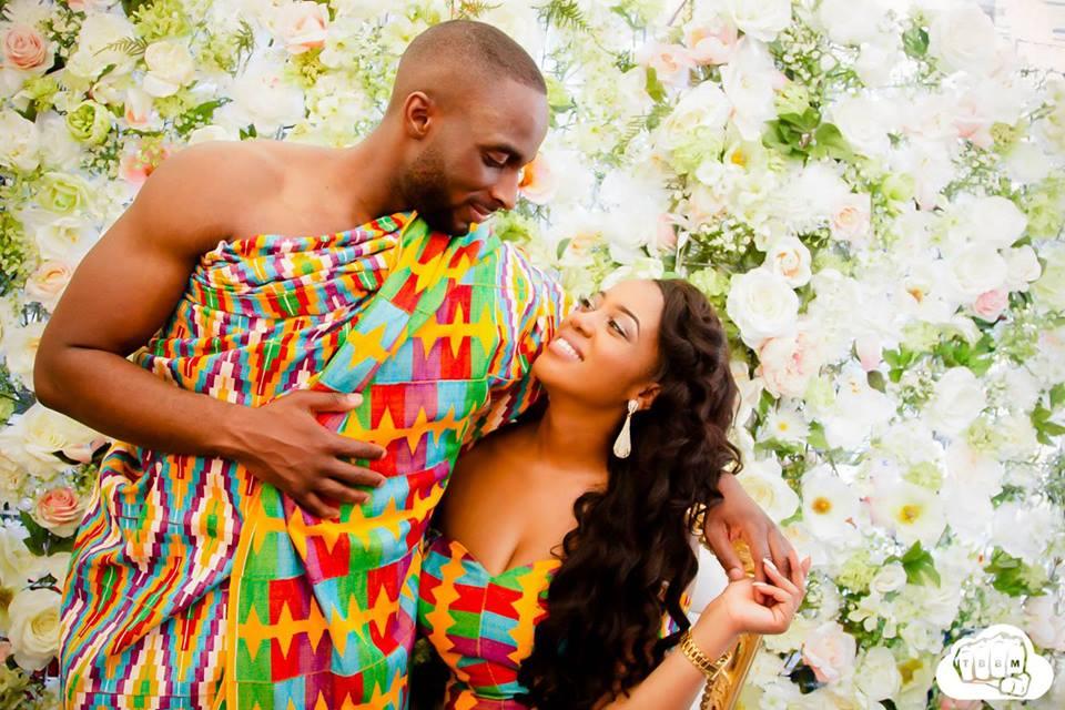 Hot Shots: Mr & Mrs Opoku\'s Amazing Kente Pre Wedding Pictures ...