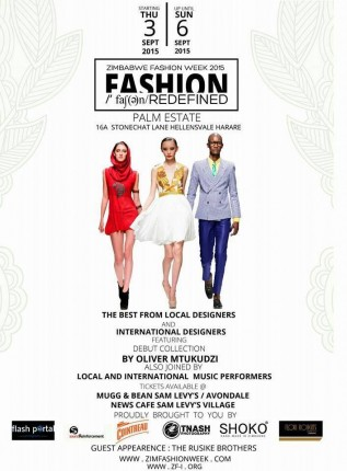 Zimbabwe: Zimbabwe Fashion Week 2015 @ Palm Estate | Harare | Harare | Zimbabwe