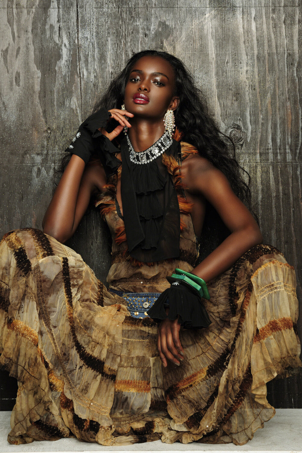 South african fashion model
