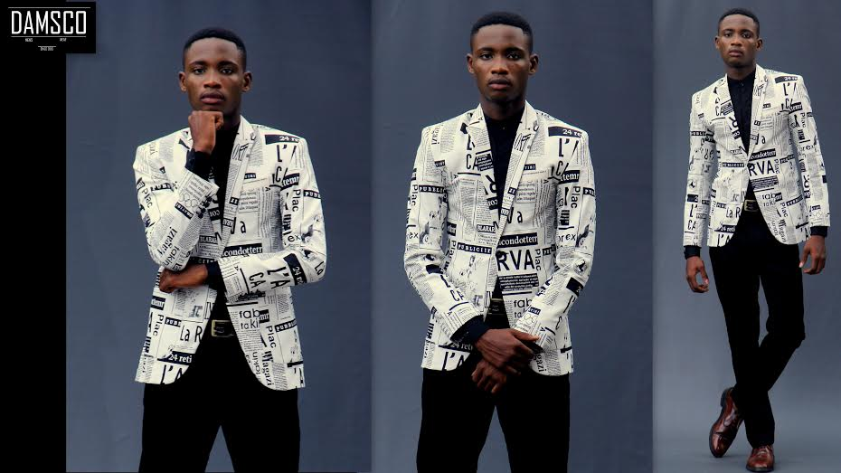 Creative Newspaper Fashion See The Hot Look Book By Damsco Emerging Nigerian Label Fashionghana Com 100 African Fashion