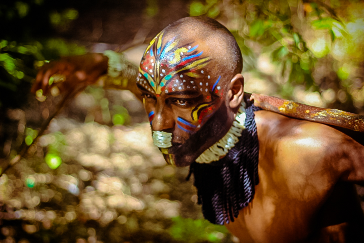 Hot Shots: Tribal African Make Up Shoot Entitled 'My ...