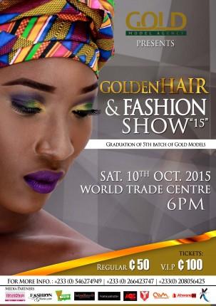 Ghana: Golden Hair & Fashion Show 2015 @ World Trade Centre Accra | Accra | Greater Accra | Ghana