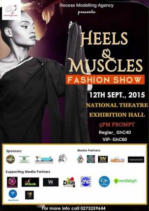 Ghana: Heels & Muscles 2015 @ National Theatre | Accra | Greater Accra | Ghana