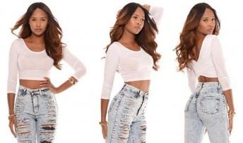 high waist jeanss
