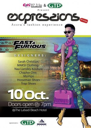 Ghana: Expressions - Accra's Fashion Experience / Fast & Furious @ Labadi Beach Hotel | Accra | Greater Accra | Ghana