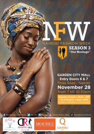 Kenya: Nairobi Fashion Week 2015 - Season 3 @ Garden City Hall | Nairobi | Nairobi | Kenya