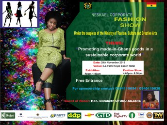 Neskael  Travel and Tours Fashion Show 2015 @ La Palm Beach Hotel | Accra | Greater Accra | Ghana
