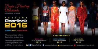 Pearl Look Nigeria 2016 Casting Dates @ Benin City, Port Harcourt and Lagos State
