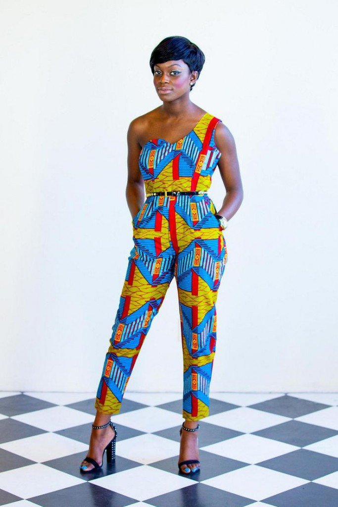 Print Jumpsuits Styles To Die For For African Fashion