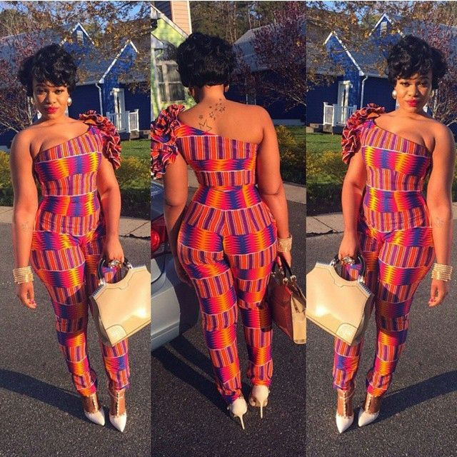 Print Jumpsuits Styles To Die For For African Fashion ...