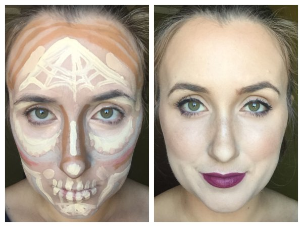 Is The New Clown Contour Makeup The New Ish ...