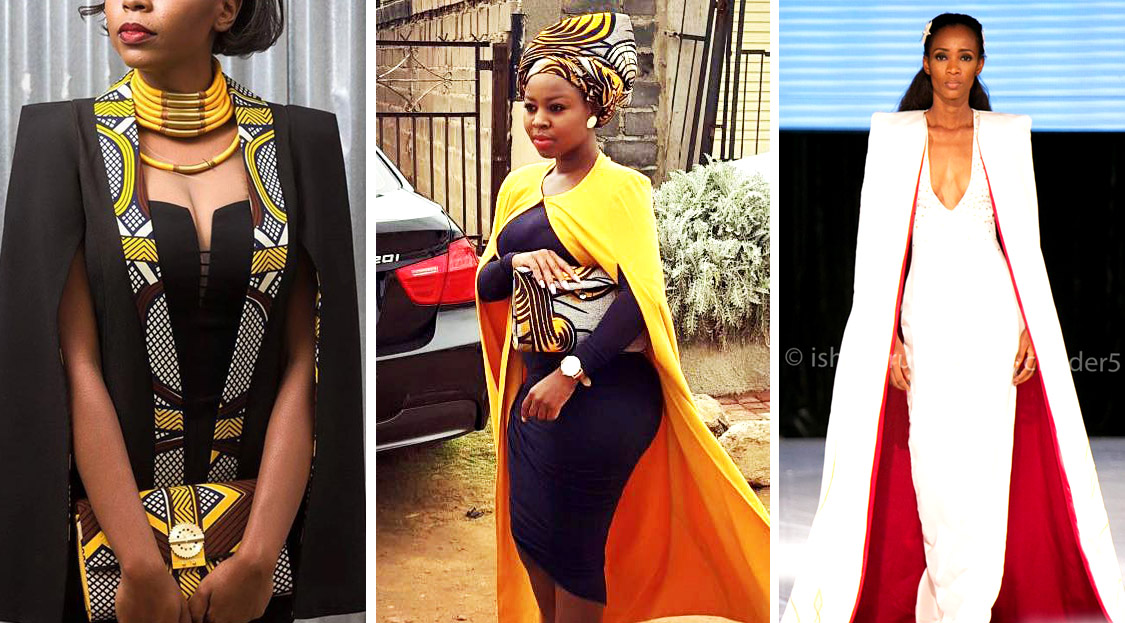 From Cape Dress To Cloak Dress A Fashion That Will Rock African Fashion Lovers In 2016