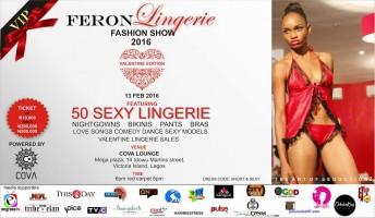 Nigeria: Feron Lingerie Fashion Show 2016 @ Cova lounge, Mega Plaza | Lagos | Nigeria