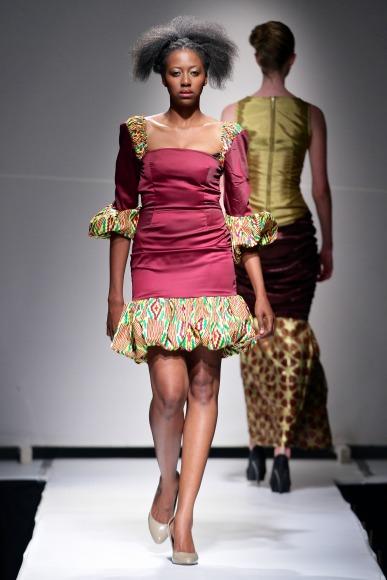 Countess K  Zimbabwe Fashion Week 2013 (2)