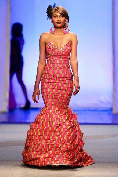 Tiffhany Dians Kinshasa Fashion Week 2013 Fashionghana