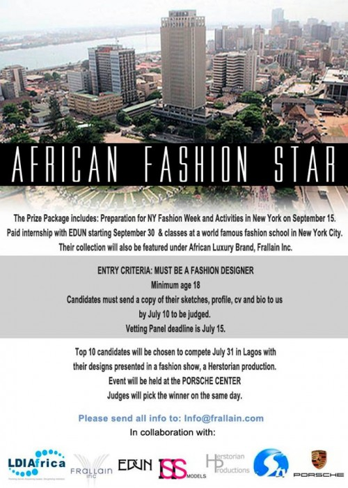 International Designer Competition Hits Africa African