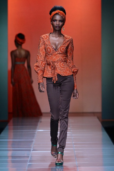 bongiwe walaza mercedes benz fashion week africa 2013 fashionghana african fashion (2)
