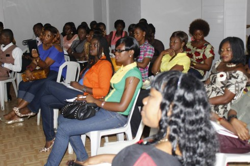 Crowd at Business Of Fashion Concept