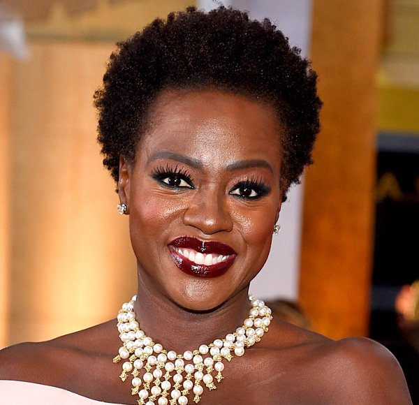 celebrity natural hair styles we are obsessed 14 with hair 7492 | Viola Davis natural hair