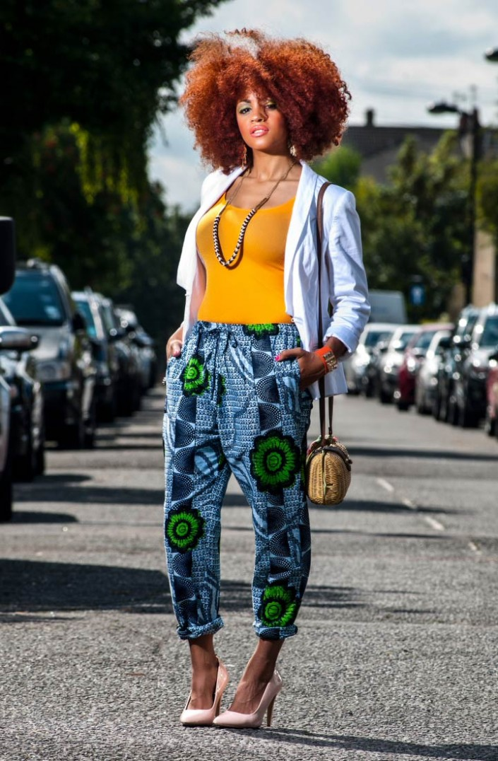 Street Style Of The Day African Ankara Prints Pants 100 African Fashion