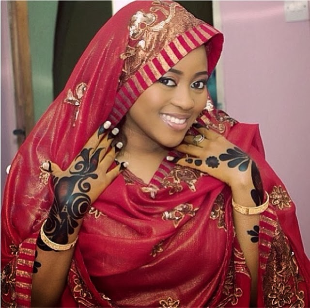 Nigeria Wedding Hair Style: African Bridal Outfits, Hausa Style! See Beautiful