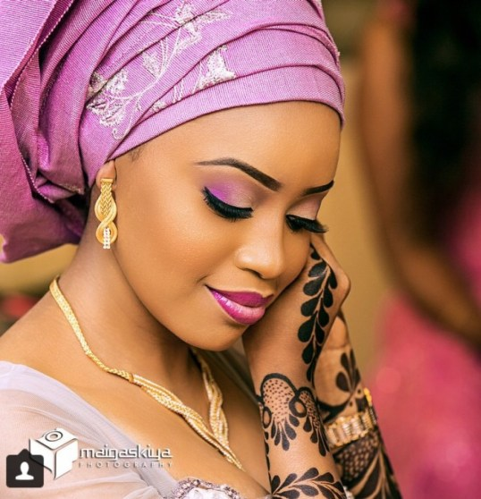 Photo Of A New Born Baby Wearing Heavy Makeup Goes Viral: African Bridal Outfits, Hausa Style! See Beautiful