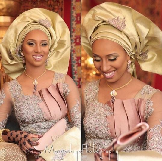 African Bridal Outfits Hausa Style See Beautiful Colorful Bridal Wear From Nigeria