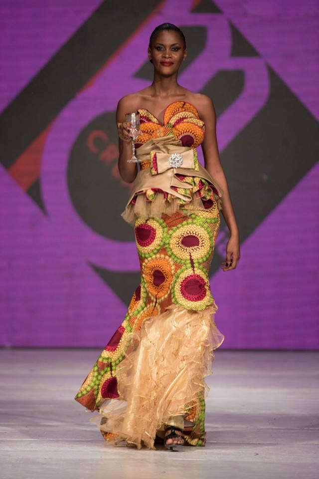 Marcia Creation Kinshasa Fashion Week 2015 Congo 100 African Fashion