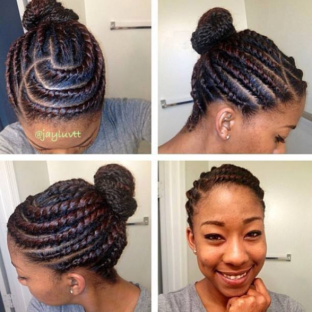 afro natural hair braids cane rolls (20)