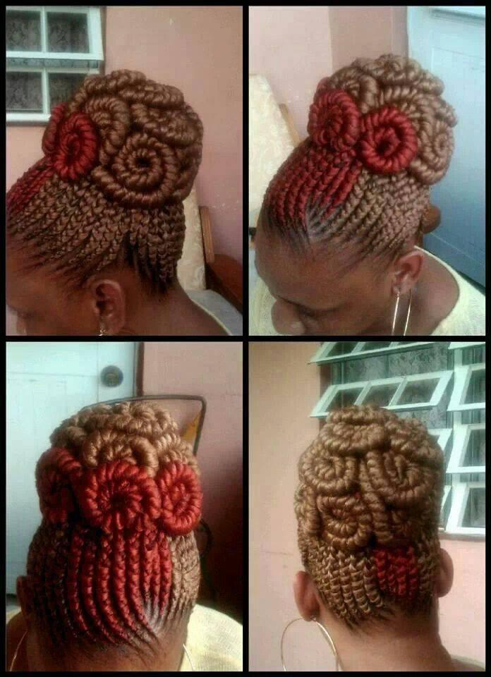 afro natural hair braids cane rolls (5)