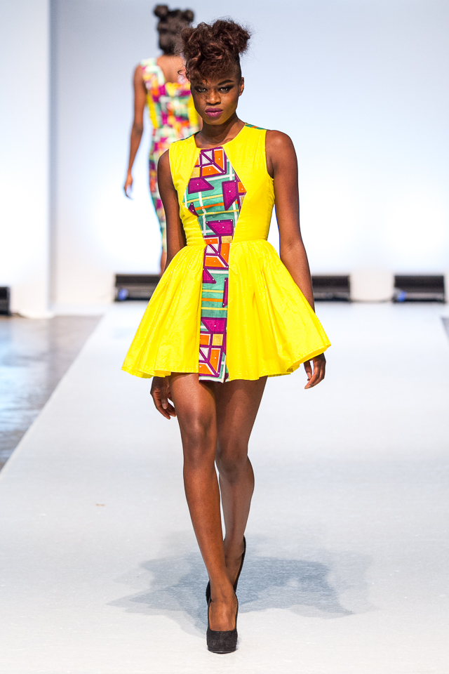 Asakeoge On The Runway For Africa Fashion Week London 2015