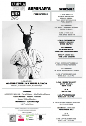 Uganda: Kampala Fashion Week 2015 @ Goethe-Zentrum Kampala UGCS | Kampala | Central Region | Uganda