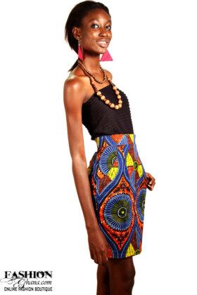 african print pencil skirt1