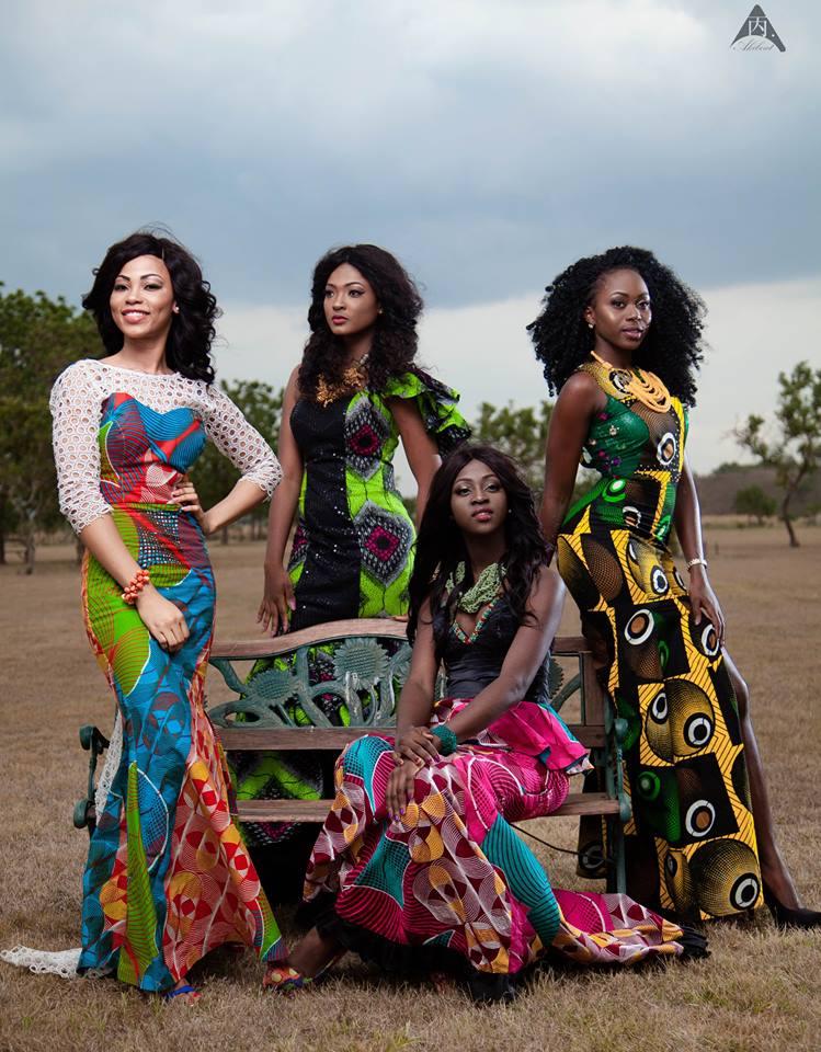 Wonderful African Fashion Images Of Ghanas Miss Malaika