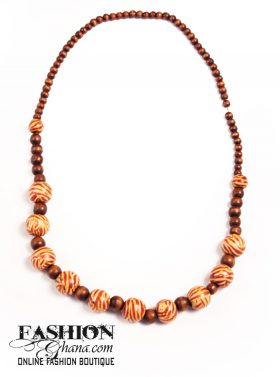 wooden beads necklace1