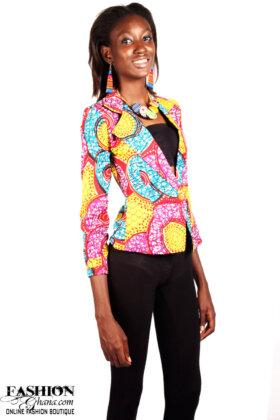 african print blazer1