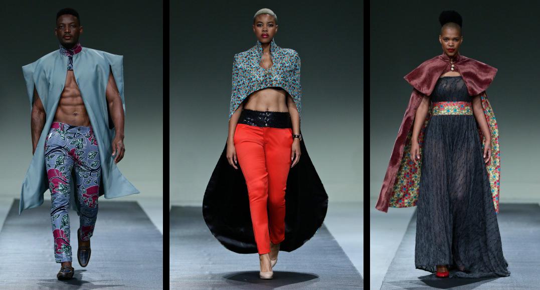 Urban Zulu, Thabo Makhetha \u0026 Mantsho @ SA Fashion Week A/W