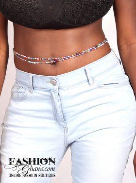 waist beads crystal