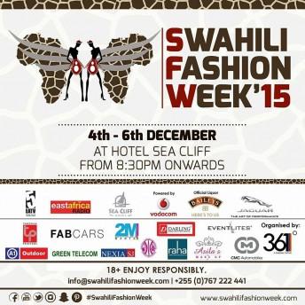 Swahili Fashion Week 2015 @ Sea Cliff Hotel | Dar es Salaam | Tanzania