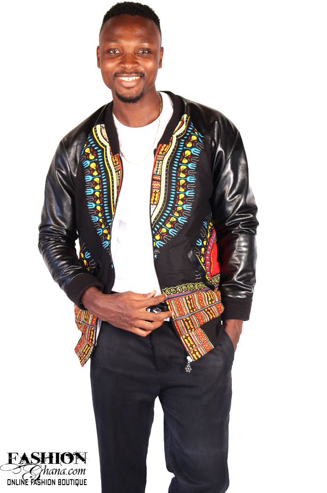 Angelina Print Dashiki Bomber Jacket Fashionghana Com 100 African Fashion