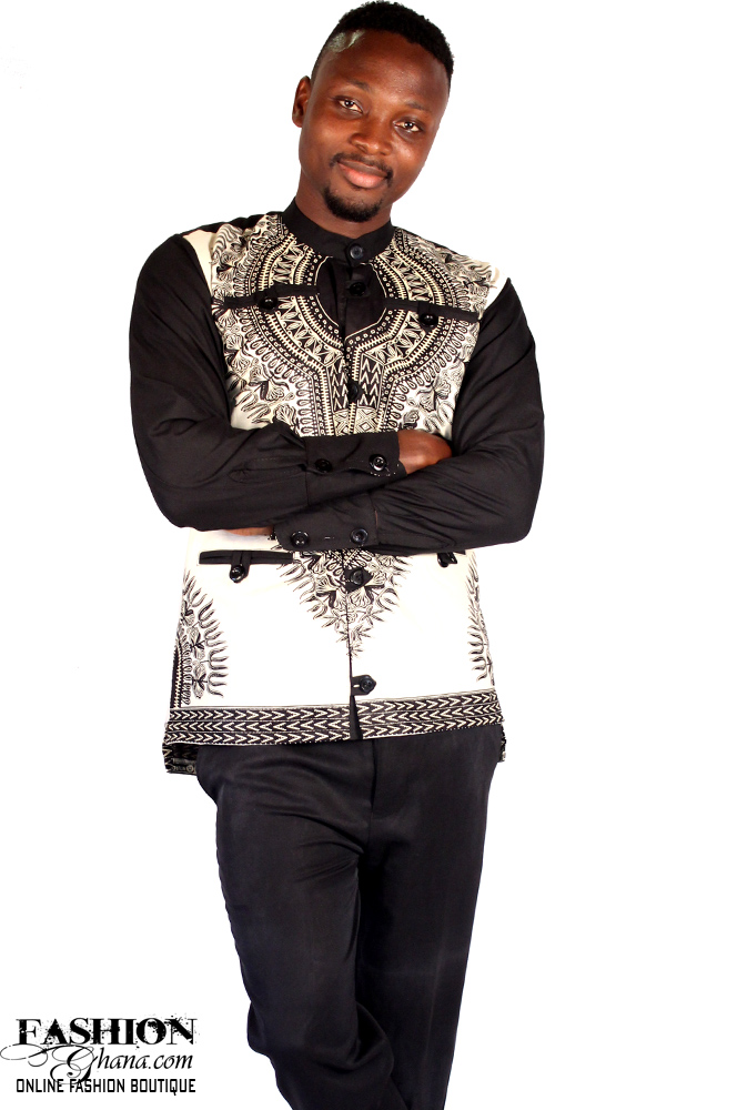 angelina print dashiki winter shirt fashionghana   100 african fashion
