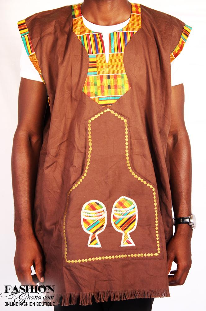 Brown Mens Dress Shirt
