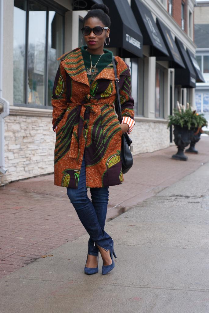 Street Style Tip Of The Day Ankara Jacket 100 African Fashion