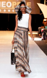 See Nigeria's 13yr Old Designer Vicnate Designs & Neopele @ Africa International Fashion Week 2015