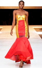 Spicy Bibi, Jay Kemor & Pendo Bello @ Africa International Fashion Week 2015, Nigeria