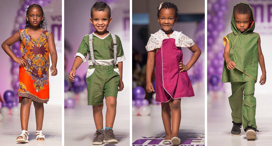 Kids Wear Show Emidio Vilanculo And Felix Boana Celso Baife